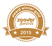 Zoover Awards Gold 2015